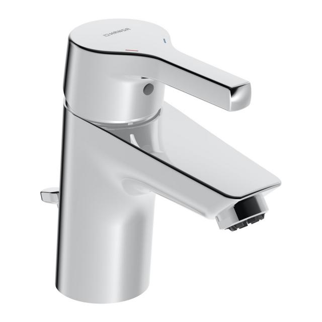 Hansa Paleno Einhebel-Waschtischarmatur mit Ablaufgarnitur, für offene Heißwasserbereiter