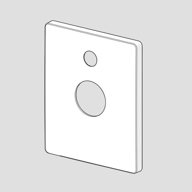 Hansa Rosette für Twist UP-Einhand-Wannen-Batterie mit Umstellung 89849085
