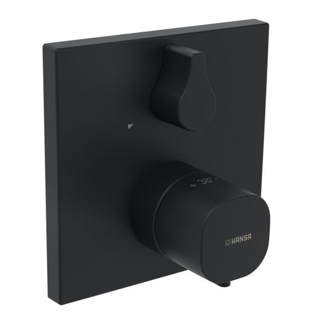 Hansa Thermostat-Brause-Batterie, für Bluebox-Grundkörper schwarz matt