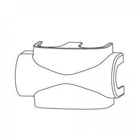 HEIMEIER Verkleidung aus Kunststoff weiß