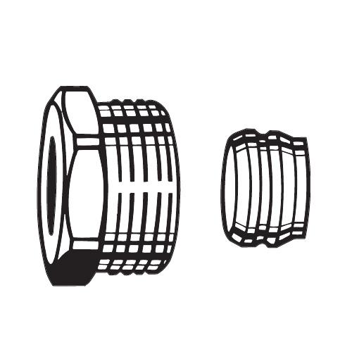 heimeier klemmverschraubung f r kupfer oder pr zisionsstahlrohr 15 mm dn 15 1 2 2201 15. Black Bedroom Furniture Sets. Home Design Ideas