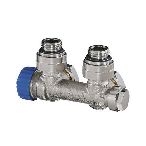HEIMEIER Multilux Thermostatventil Rp 1/2, Eck, Innengewinde, Einrohrsystem 3855-02.000