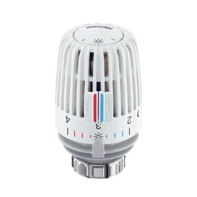 Heimeier Thermostat-Kopf K mit eingebautem Fühler, Sollwertbereich 6°C - 28°C