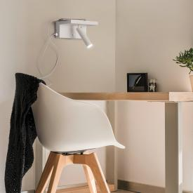 helestra PLACE LED Spot/Wandleuchte mit Dimmer