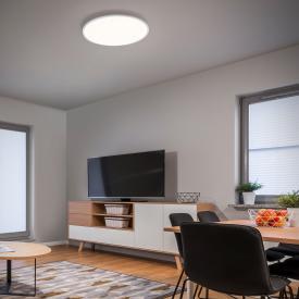 Helestra RACK LED Deckenleuchte mit Dimmer, rund