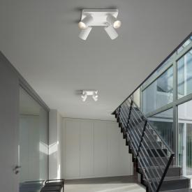 Helestra RIWA LED Deckenleuchte / Spot 4-flammig