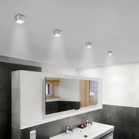 Badezimmer Beleuchtung Decke Fabulous Badezimmer Bilder U - Lampe badezimmer decke