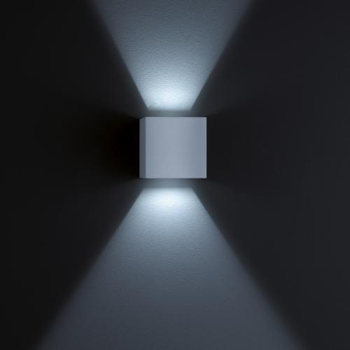 helestra siri 44 led wandleuchte lichtaustritt verstellbar reuter. Black Bedroom Furniture Sets. Home Design Ideas