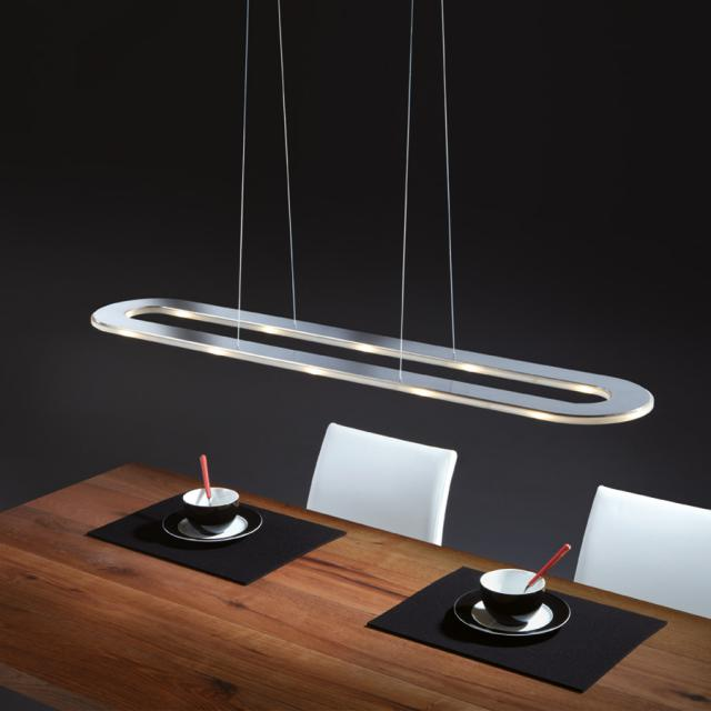 esszimmerlampe led glas pendelleuchte modern. Black Bedroom Furniture Sets. Home Design Ideas
