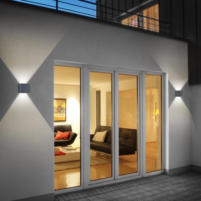 helestra SIRI 44 - L LED Wandleuchte, Lichtaustritt verstellbar