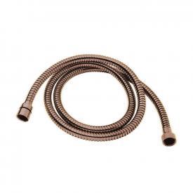 Herzbach Design iX PVD Metallflex Brauseschlauch Länge: 1600 mm, copper steel