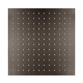 Herzbach Design iX PVD Regenbrause eckig black steel