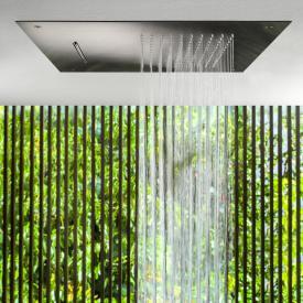 Herzbach Design iX PVD Regenbrause Multifunktion 2, zum Deckeneinbau black steel