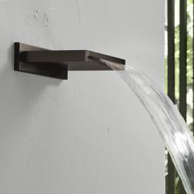 Herzbach Design iX PVD Schwallauslauf black steel
