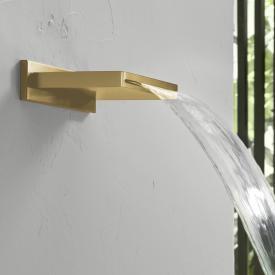 Herzbach Design iX PVD Schwallauslauf brass steel
