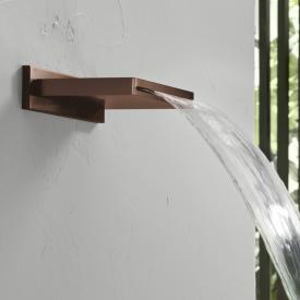 Herzbach Design iX PVD Schwallauslauf copper steel