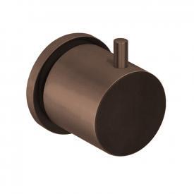 Herzbach Design iX PVD Unterputzventil und Zwei- oder Dreiwegeumsteller copper steel