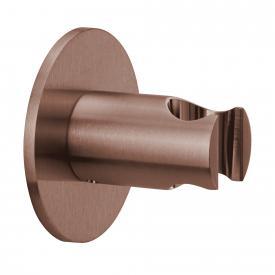 Herzbach Design iX PVD Wandhalter seven rund copper steel