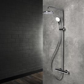 Herzbach Living Spa Duschsäule mit Brause-Aufputz-Thermostat