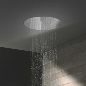 Herzbach Living Spa Regenbrause, Deckeneinbau edelstahl poliert