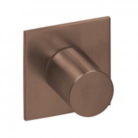 Herzbach Logic XL Vario Absperr- und Umstell-Modul eckig copper steel