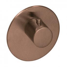 Herzbach Logic XL Vario Einzel-Thermostatmodul rund copper steel