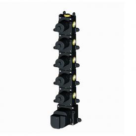 Herzbach Logic XL 5 Universal-Thermostat-Modul mit 5 Absperrventilen