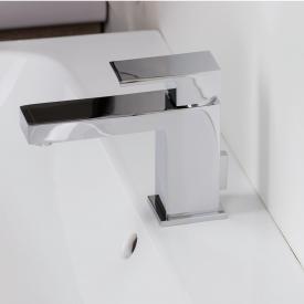 Herzbach Neo Castell Waschtisch-Einlochbatterie ECO mit Ablaufgarnitur