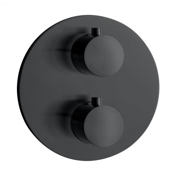 Herzbach DEEP BLACK Unterputz Thermostat für 3 Verbraucher