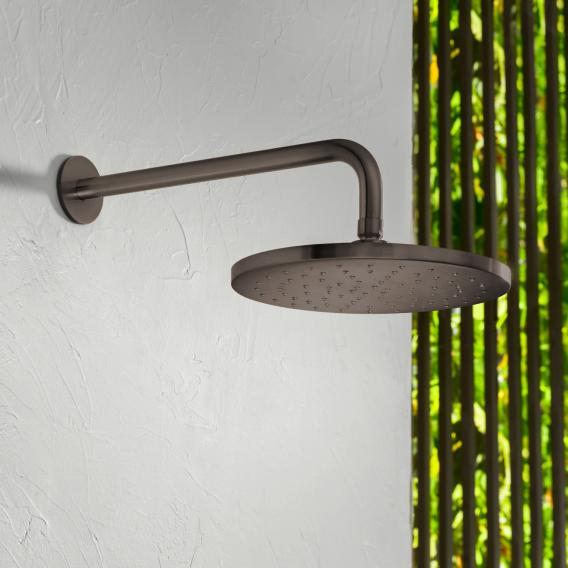 Herzbach Design iX PVD Regenbrause black steel
