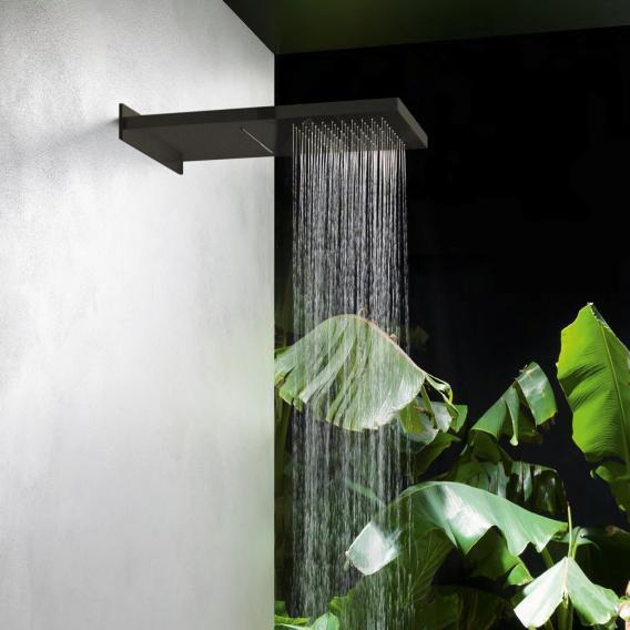 Herzbach Design iX PVD Regenbrause Multifunktion 2 black steel