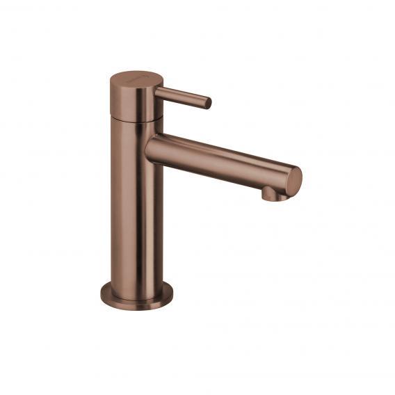 Herzbach Design iX PVD Standventil für Kaltwasser copper steel, ohne Ablaufgarnitur