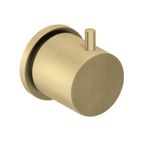 Herzbach Design iX PVD Unterputzventil und Zwei- oder Dreiwegeumsteller brass steel