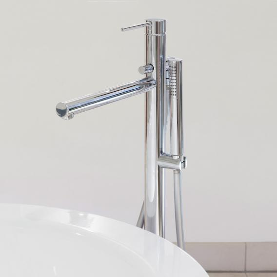 Herzbach Design New Wannen-Einlaufsäule, Farbset