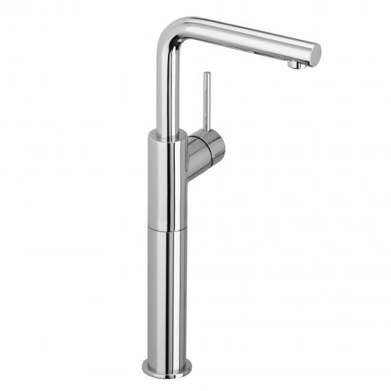Herzbach Design New Waschtisch-Einlochbatterie mit erhöhtem Schaft für offene Warmwasserbereiter ohne Ablaufgarnitur