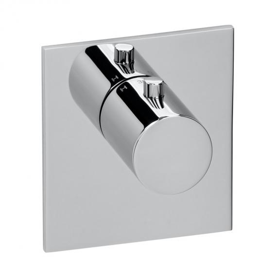 Herzbach Logic XL Vario Einzel-Thermostatmodul eckig chrom