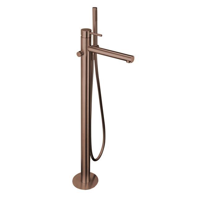 Herzbach Design iX PVD Wanneneinlaufsäule copper steel