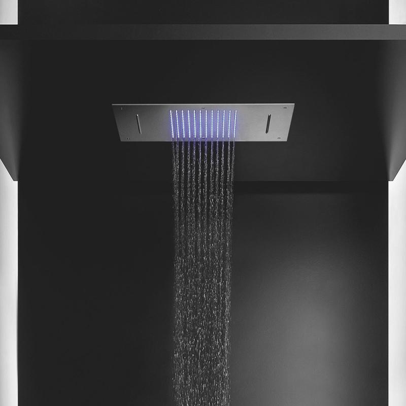 herzbach living spa regenbrause multifunktion 2 deckeneinbau edelstahl poliert. Black Bedroom Furniture Sets. Home Design Ideas