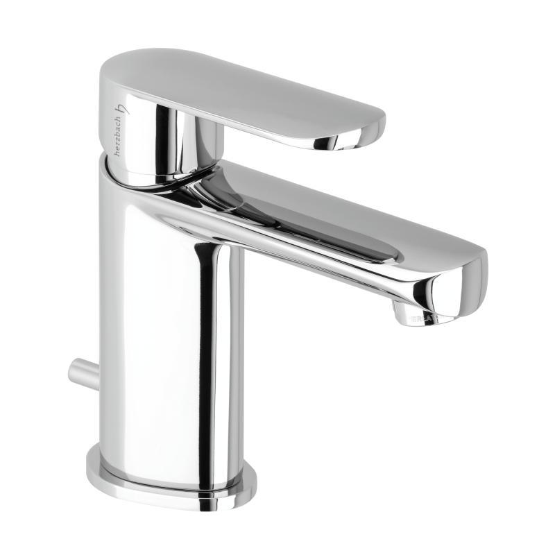 Herzbach memo waschtisch einlochbatterie ohne for Waschtisch ablaufgarnitur