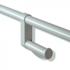 Hewi Serie 801 Aufrüstsatz WC-Papierhalter für Stangensysteme felsgrau