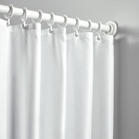 Hewi Serie 801 Duschvorhang weiß