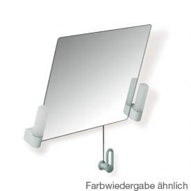 Hewi Serie 801 Kippspiegel mit Beleuchtung felsgrau