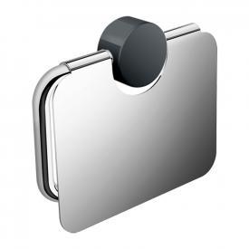 Hewi System 815 WC-Papierrollenhalter mit Deckel chrom/anthrazitgrau