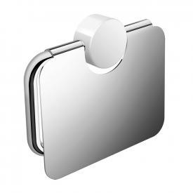 Hewi System 815 WC-Papierrollenhalter mit Deckel chrom/signalweiß