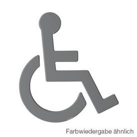 Hewi Universal Symbol Rollstuhl anthrazitgrau