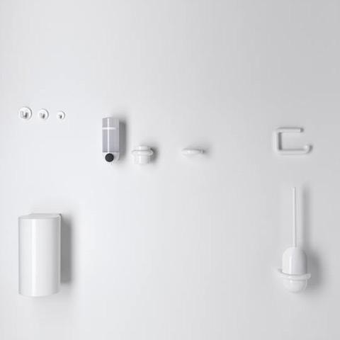 hewi serie 477 halter f r becher oder seifenablage reinwei 99 reuter. Black Bedroom Furniture Sets. Home Design Ideas
