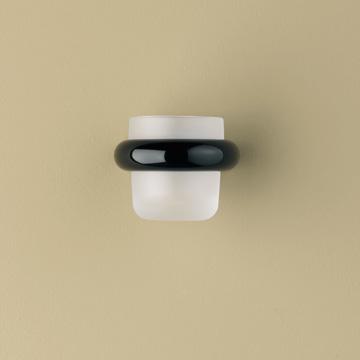 hewi serie 801 halter f r zahnputzbecher tiefschwarz 90 reuter. Black Bedroom Furniture Sets. Home Design Ideas