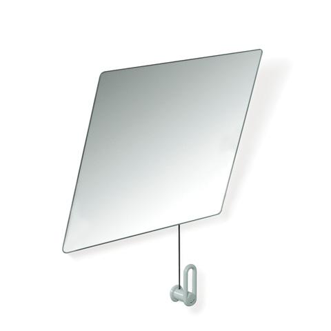 Hewi Serie 801 Kippspiegel lichtgrau