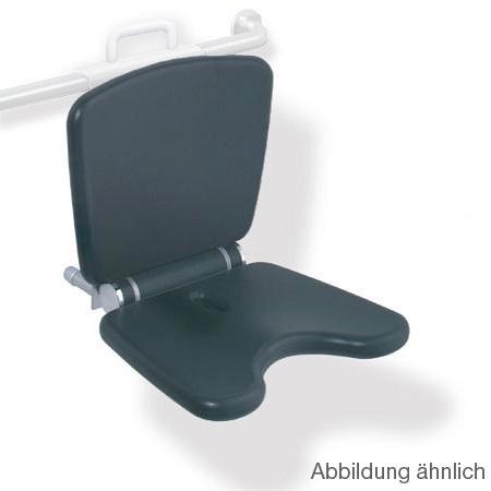 Hewi Serie 802 LifeSystem Einhängesitz Komfort lichtgrau/silber matt