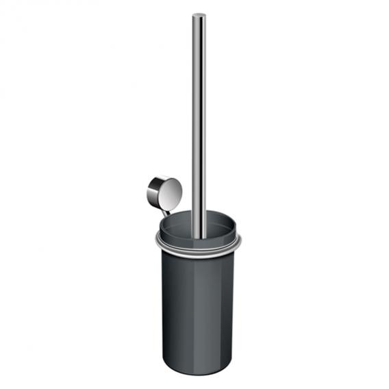 Hewi System 815 WC-Bürstengarnitur chrom/anthrazitgrau